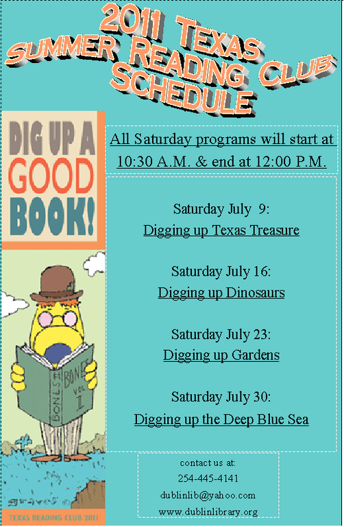 DPL's Texas Reading Club