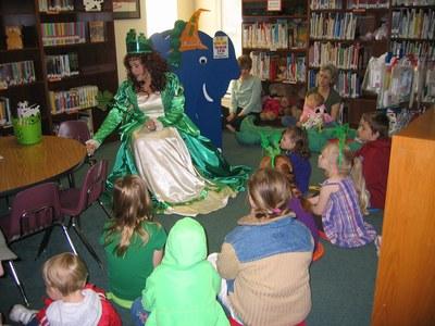 Saint Patrick's Day Story Time